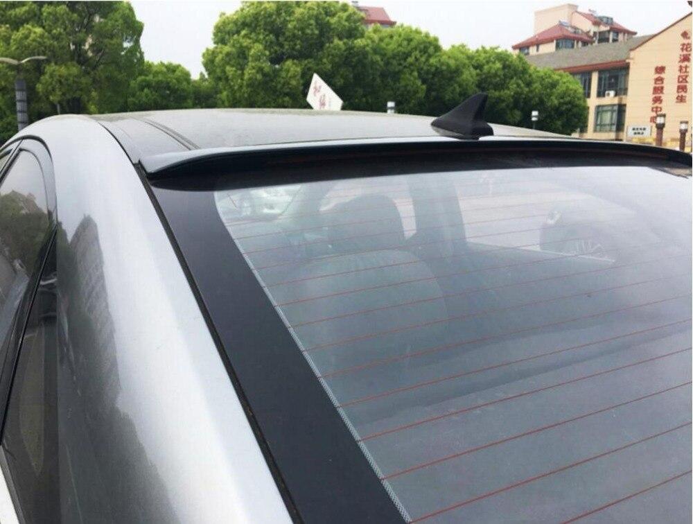 Pour Hyundai Sonata Voiture Décoration 2011 2012 2013 2014 2015 2016 2017 ABS En Plastique Peinture Peinture Couleur Coffre Arrière LED Spoiler - 5