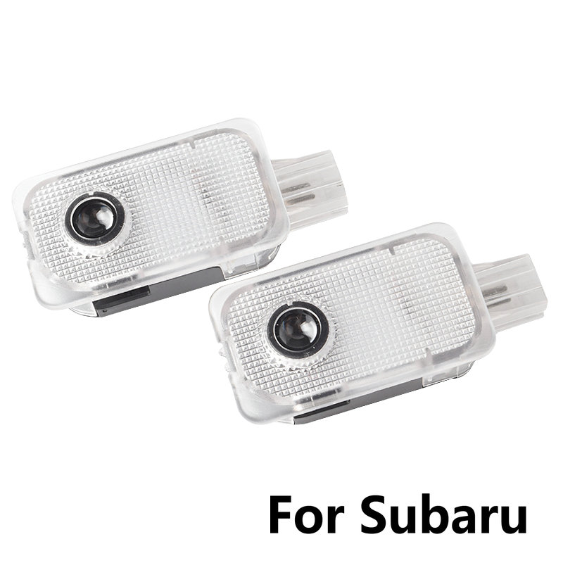 2PCS LED Car Door Welcome Light Shadow Projector Door Light For Subaru BRZ FORESTER OUTBACK XV LEGACY IMPREZA