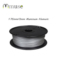 New Plastic Filament Aluminum Metal Filament For FDM 3D Printer 0.5kg/Spool