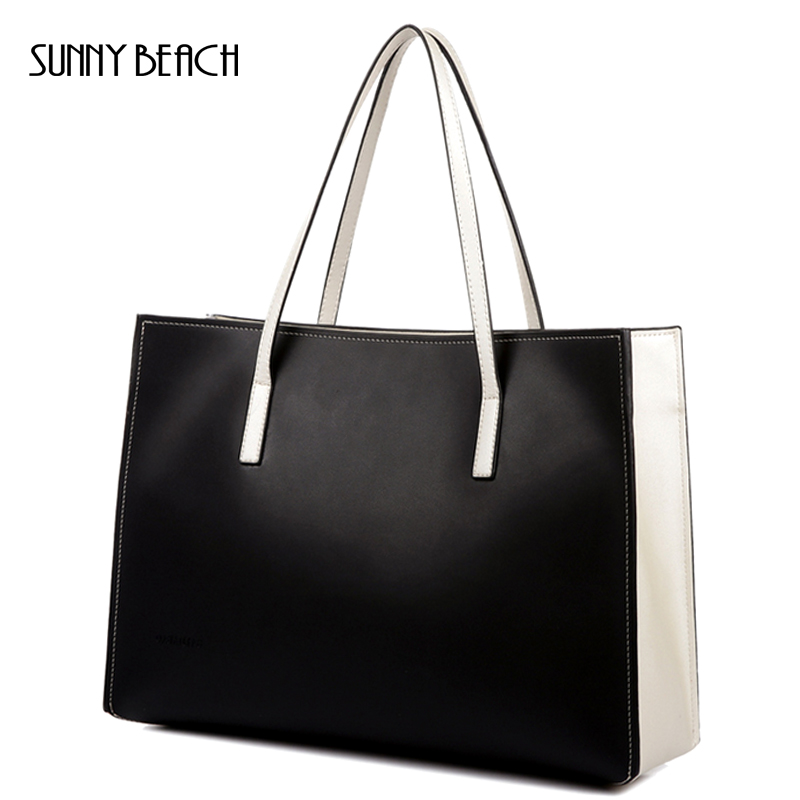 SUNNY BEACH brand women handbag genuine leather bag shoulder bags messenger high quality leather big size