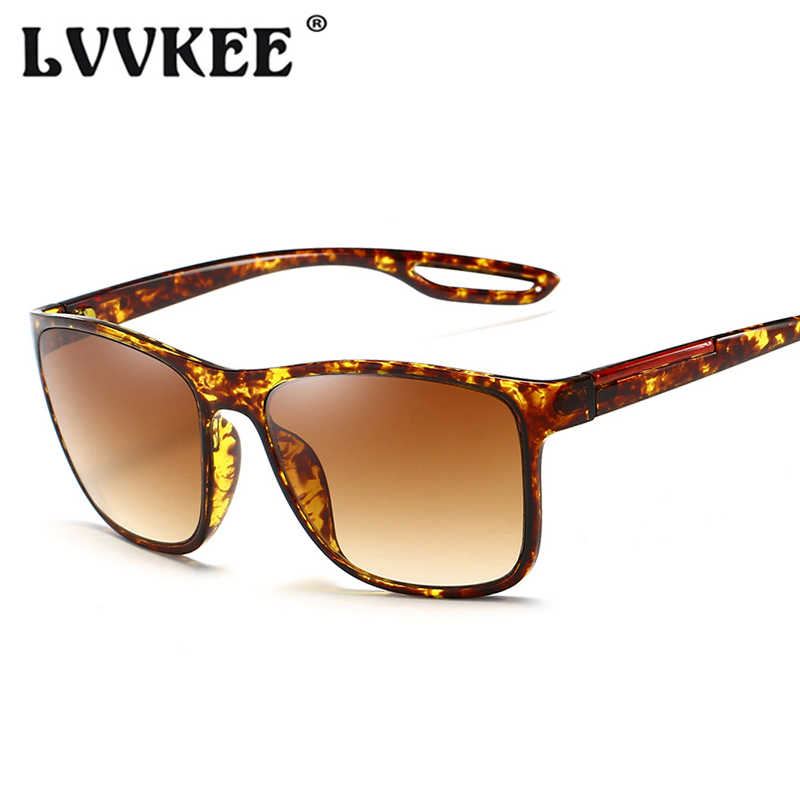 LVVKEE 2019 новые модные солнцезащитные очки Для мужчин вождения солнцезащитные очки для женщин, фирменный дизайн, зеркало высокого качества, мужские солнцезащитные очки с женский UV400