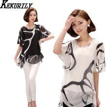 Women plus size 3xl 4xl 5xl  chiffon blouse 2017 vintage boho shirt casual summer womens fashions big clothing blouse