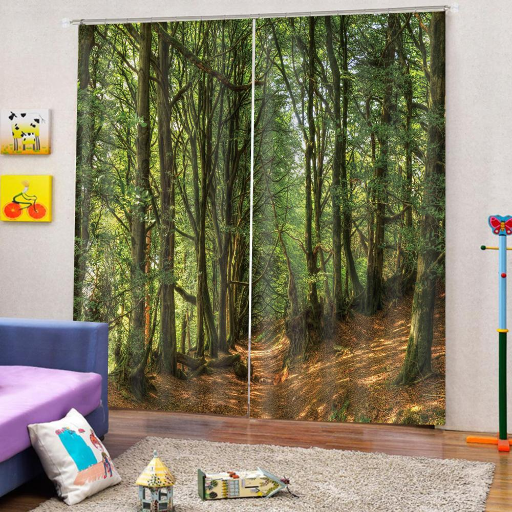 customize height stereoscopic curtains for living room bedroom tree modern livingroom curtainscustomize height stereoscopic curtains for living room bedroom tree modern livingroom curtains