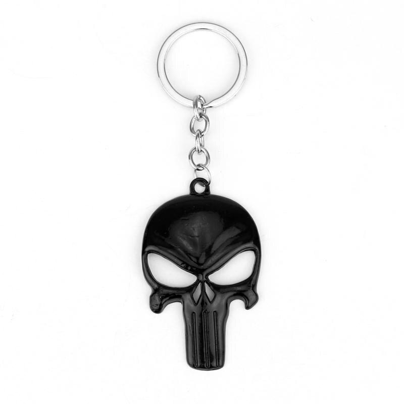 Горячие продать Каратель Скелет маска брелок