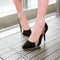 C15 Женщин Тонких Высоких каблуках Обуви Указал Сексуальные ПР Офисные Женщины Высокие Каблуки Обувь color matching