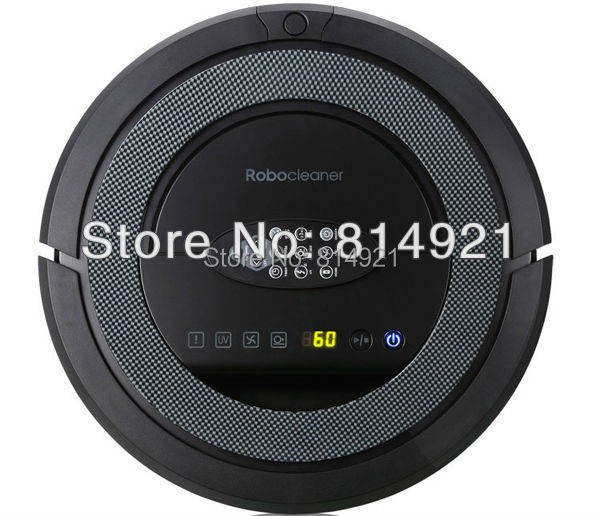 TOP-Grade 6in1 Multifunctional Robot vacuum cleaner QQ5,never touch charge base ,Sonic wall,auto-checking of problem,UVSterilize