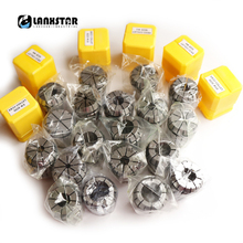 Top Quantity ER32 Collet Kit 19PC 2mm~20mm ER32 Series Chuck Milling Spindle Machine Lathe Accessories CNC Router ER Collets