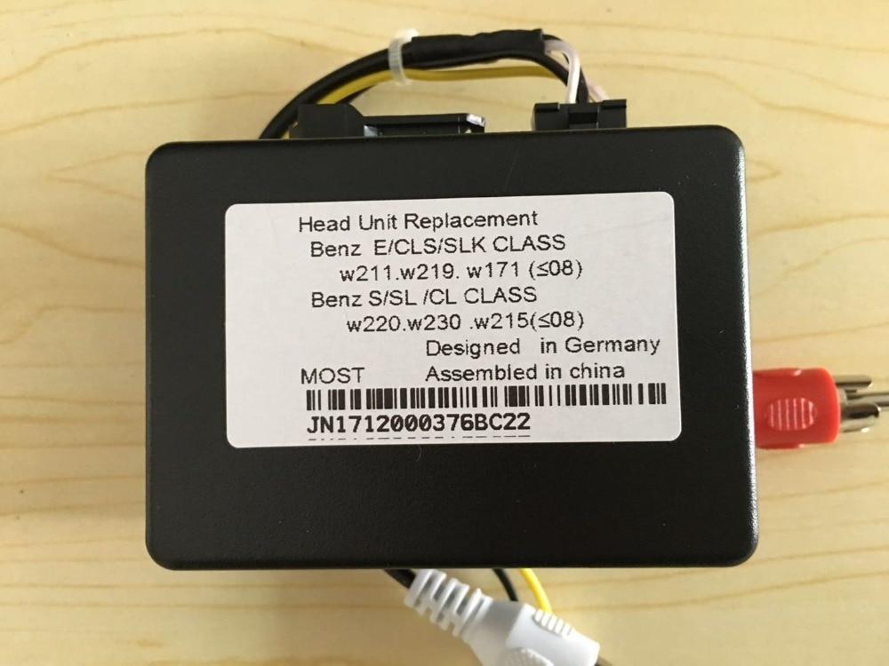 Optical Optic Fiber Box Most Decoder Interface for Mercedes Benz E SLK CLS CL SL ML GL R Porsche Cayenne Cayman Boxster 911