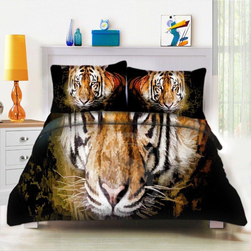 Online kopen wholesale tijger beddengoed uit china tijger ...