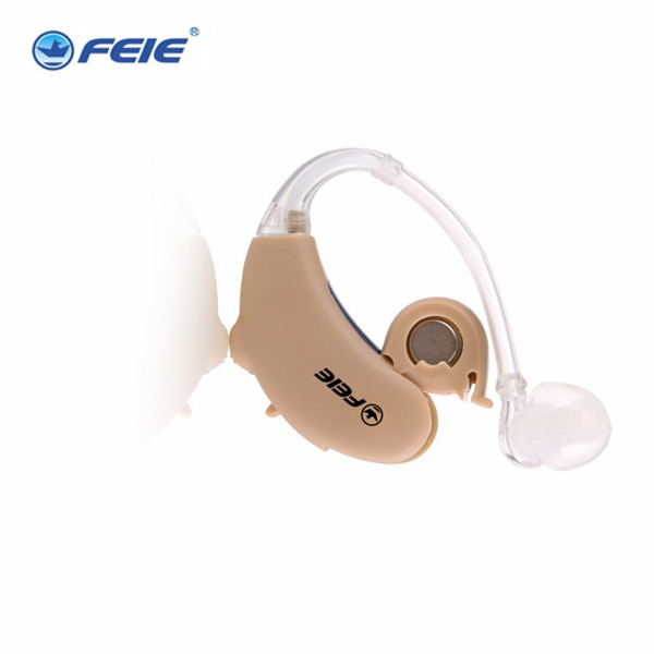2pcs/lot Behind Ear Enhancement Hearing Aid Headset amplifiers for deaf S- 188 Drop Shipping rechargeable hearing aid deaf ear headset charging in computer s 109s free shipping