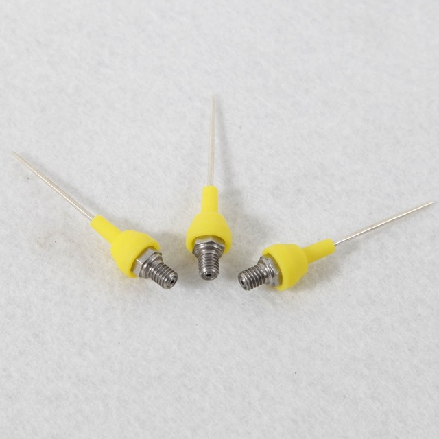 Livraison gratuite 3 pièces Gutta Percha Pistolet Aiguilles Conseils Pour Dentaire Endo Sans Fil Système Dobturation