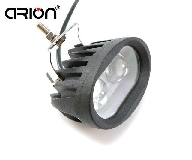 CIRION pracy światła 20 W 12 V reflektor lampa przeciwmgielna Offroad lampa do pracy dla ATV SUV motocykl ciężarówka łódź robocze LED światła