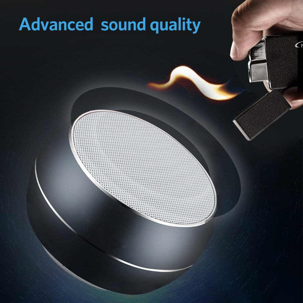 Mini Bluetooth Speaker Wireless Best Portable Music BT Blutooth Speaker for iPhone iPad MP3 LED Light Support USB AUX TF Card