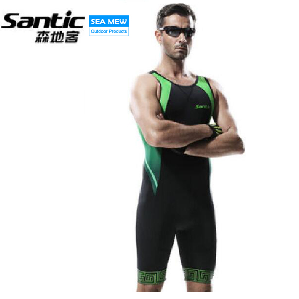 Santic NEW Triathlon Cycling Shorts Men 4D Padded Road bike short Downhill MTB Bicycle Shorts Cycling Clothing Bermuda Ciclismo santic women cycling shorts black spandex pro padded 2017 triathlon running sleeveless mtb road bike bicycle shorts skinsuit