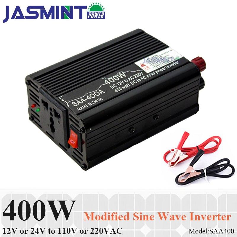 400W inverter 12 220 solar Portable Car power inverter use for laptops, cell phones, amplifier, freezer