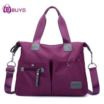 Luggage Women's Shoulder Bags Fashion Graffiti Waterproof Nylon Women Handbags Ladies Handbags Sac Ladies Shoulder Hand Bag Sac