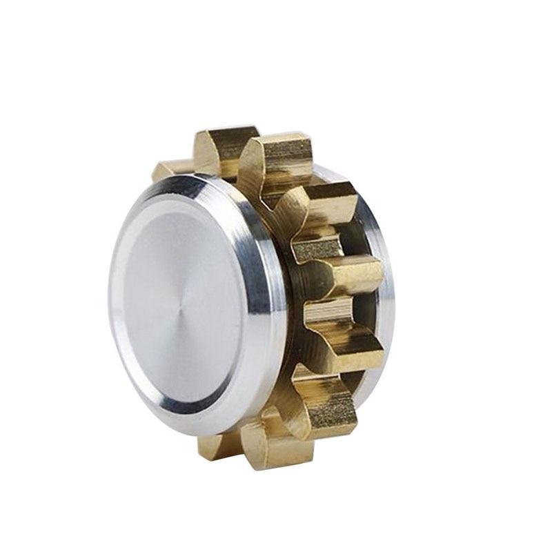 MINI Gear Copper Alloy Spinner Fidget Hand Spinner Finger EDC Focus Toys Gift 88