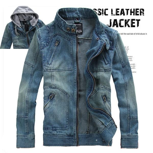 Куртки джинсовые мужские зимние