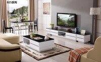 CJTV025 Minimalist Modern living room furniture dinning table chest of drawers TV stand cabinet coffee tea table furniture set