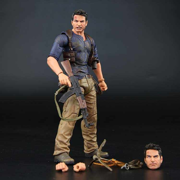 "NECA Uncharted 4 EEN dief's end NATHAN DRAKE Ultimate Edition PVC Action Figure Collectible Model Toy 7 ""18 cm"