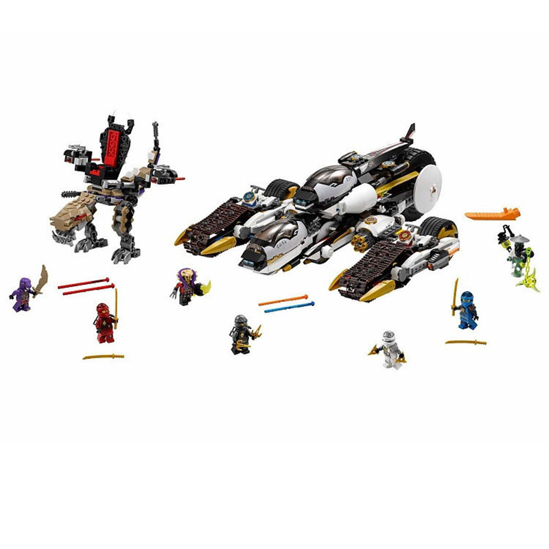 Pogo BL10529 Lepin Decool Bela Building Blocks Bricks Ninjagoe Action Figures Toys Thunder Swordsman Compatible Legoe