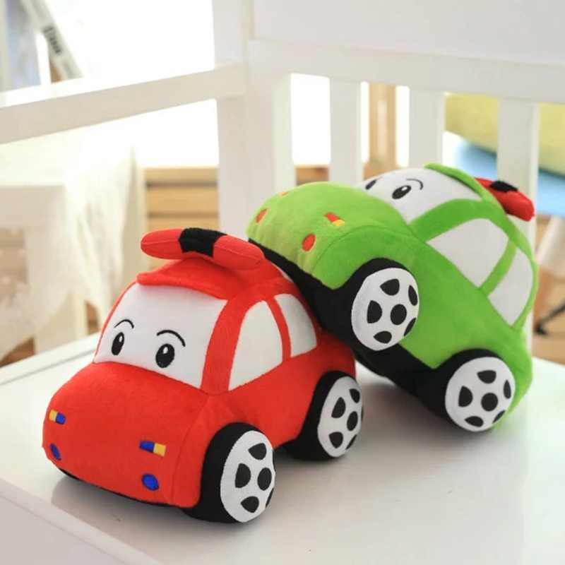 GGS 23cm Hot Sale creative 3D  3 color  Cute plice car plush toy &stuffed toy dolls Xmas gift for kids boy girls.