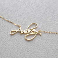 GORGEOUS TALE New Design Pesonalized Name Fashion Jewelry Best Gift Unisex Meaningful Long Chain Letters Statement