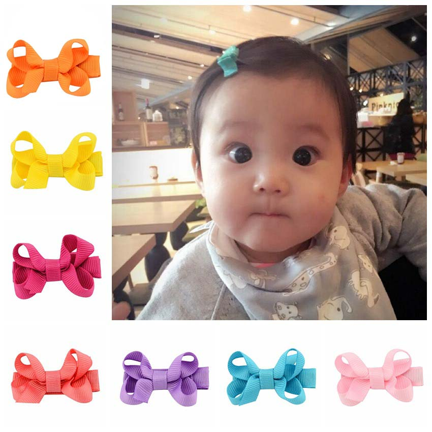 Hair Accessories Girls Hair Clips Small Ribbon Bow Hairpins Barrettes Headwear Boutique Wholesale Best Friend Holiday Gift 2017 1pcs 4 7 inches boutique kids hairpins headwear big hair clips with ribbon bows for girls babies barrettes children accessories