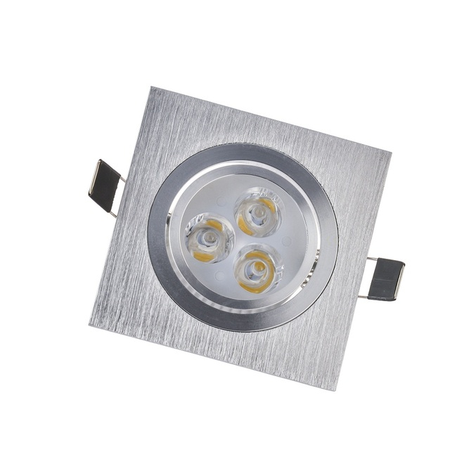 5pcs Lot 3w 6w Round Downlight Led Cabinet Light Best Quality Dimmable Recessed Lights