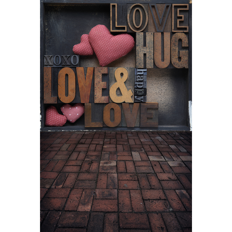 Vinyl Custom Photography Backdrops Props Valentine day Studio Backgrounds 5X8ft  F-1829 you might be an artist if
