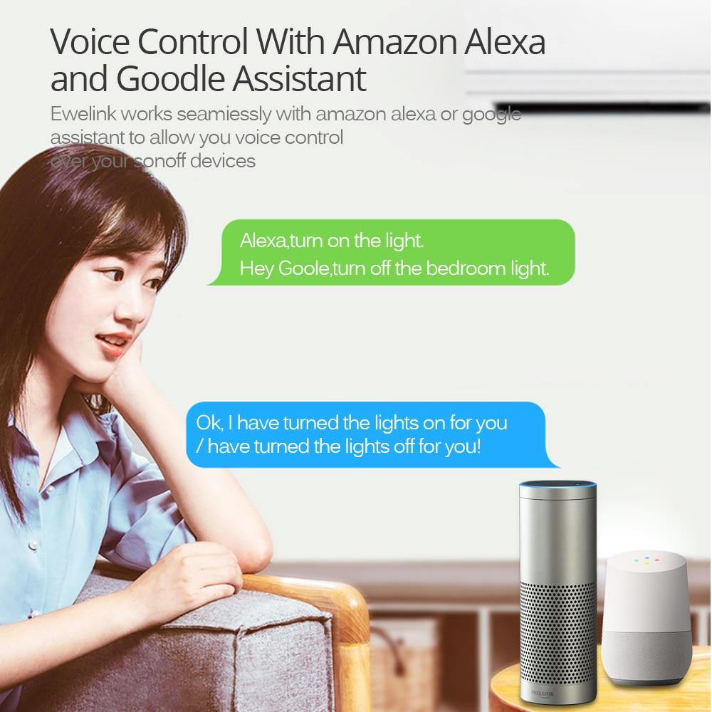 SONOFF S26 EU EU-E/EU-F/UK/AU/US 220V 10A Smart Plug Wifi Power Socket Timer Outlet Remote Alexa Google Home IFTTT Compatible