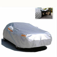 Universal Car Cover Snow Resistant Hatchback Sedan SUV Tent Waterproof UV Dust Scratch Protector Outdoor Car Cloth PEVA FullSize