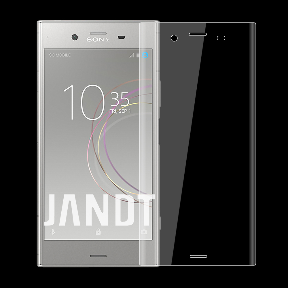 for SONY XZ1 screen protector tempered glass 3D full cover case friendly bubble free accessaries
