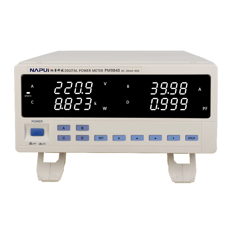Fast arrival  PM9840 Bench TRMS AC Voltage Current Power Meter high power electric  type 600V 40A|power meter|bench power|power ac - title=