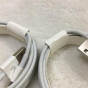Image 3 - 10pcs/lot Original 2m/6FT E75 Chip OD 3.0mm 100% Data USB Cable For Foxconn 5S 6 6s 7 7plus 8 8pl With retail box
