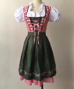 Image 5 - S 6XL Disfraz de Oktoberfest para mujer adulto, traje femenino de fiesta, el Dirndl, Bávaro, mucama, campestre, 2020