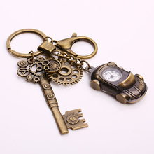 -Дождевик Kupla Металл родстер карманные часы брелок Винтаж стимпанк Брелки Мода автомобиль брелок для Для женщин подарок