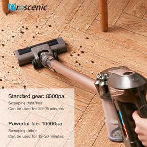 Image 4 - Proscenic p8 Plus Cordless Vacuum Cleaner 15000 Pa Powerful Suction Bagless Handheld Vacuum Cleaner