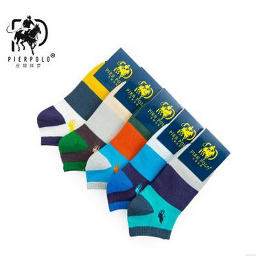 2017 Casual Socks Men The New s Fight Color Wide Horizontal Boat 200n Low Cotton To Help Foreign Trade Wholesale New Arrival