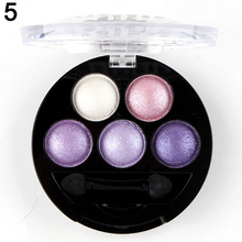 2016 2015 Fashion 5 Colors Professional Cosmetic Palette Bare Makeup Tool Smoky Shimmer Eye Shadow 52YM