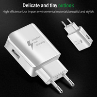 Universal USB Charger EU US Plug Travel Wall Fast Charger Adapter Chargers For Samsung Xiaomi Huawei Tablets Charger Tablet Chargers Computer & Office -