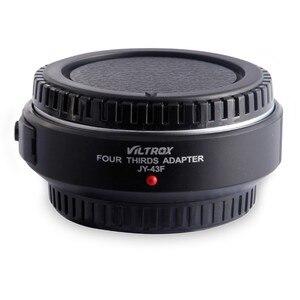 Image 2 - Viltrox Автофокус M4/3 объектив для микро 4/3 адаптер для камеры Olympus фотография искусственная задняя фотография GF6 GH5 G3 DSLR
