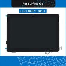Montagem lcd para microsoft surface go, montagem digitalizadora de tela touch screen