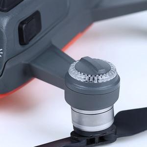 Image 2 - DJI شرارة LED غطاء LED غطاء يتصاعد مجموعات الأصلي إصلاح أجزاء ل DJI شرارة الطائرة بدون طيار مصباح مكون استبدال الملحقات