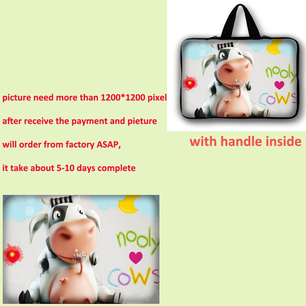 7 9 7 11 6 13 3 14 1 15 4 15 6 17 3 inch Laptop Sleeve Notebook Bag Computer case Handbag cover for macbook pro 13 case LB 5374 in Laptop Bags Cases from Computer Office