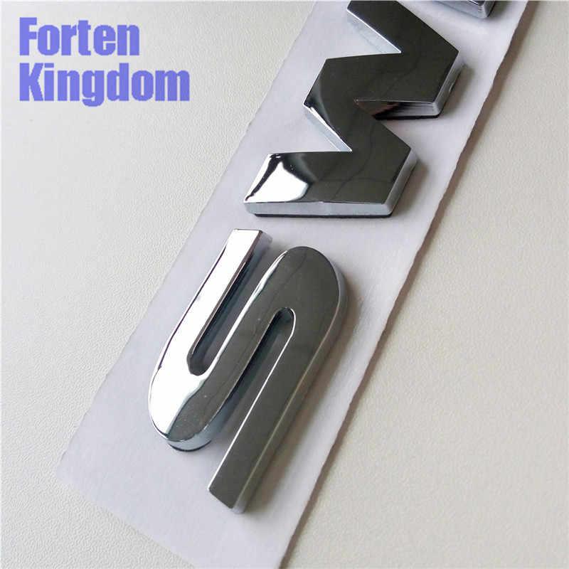 Forten Kingdom 1 Piece Car SWIFT Word Rear Trunk Emblem ABS Plastic Custom  3D Letter Nameplate Sticker Auto Chrome Tail Badge