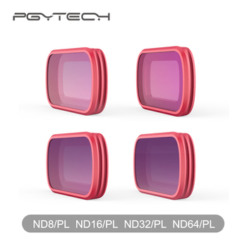 PGYTECH Filters ND8-PL ND16-PL ND32-PL ND64-PL Filters Set for DJI Osmo Pocket Parts Profesional Accessories
