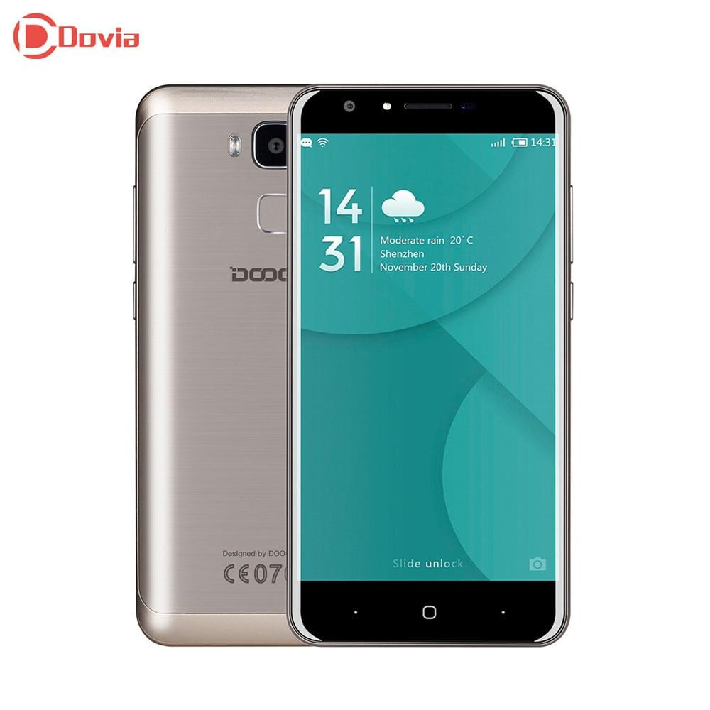 Clearance DOOGEE Y6C 5 5 inch 4G Smartphone MTK6737 Quad Core 2GB RAM 16GB ROM 8