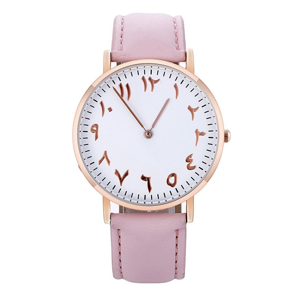 Luxury Women Watches Arabic Numerals Dial Ladies Watch Clock Fashion Leather Female Quartz Wristwatches relojes relogio femininoLuxury Women Watches Arabic Numerals Dial Ladies Watch Clock Fashion Leather Female Quartz Wristwatches relojes relogio feminino
