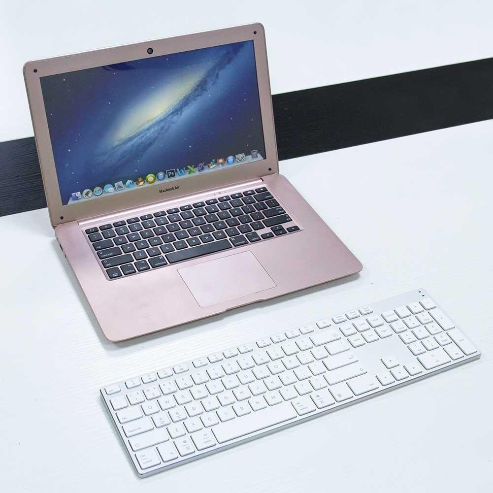Nouveau clavier sans fil Bluetooth 3.0 en alliage d'aluminium pour tablette Support de téléphone portable système iOS Windows
